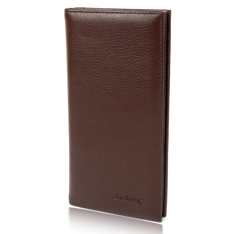 Чоловіче портмоне купюрник Baellerry на магніті 613 коричневий 141886