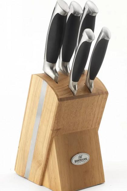 Набір кухонних ножів 6 предметів Bohmann BH-5044