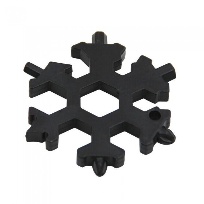 Мультитул отвертка в виде снежинки Snowflake Wrench Tool 179840