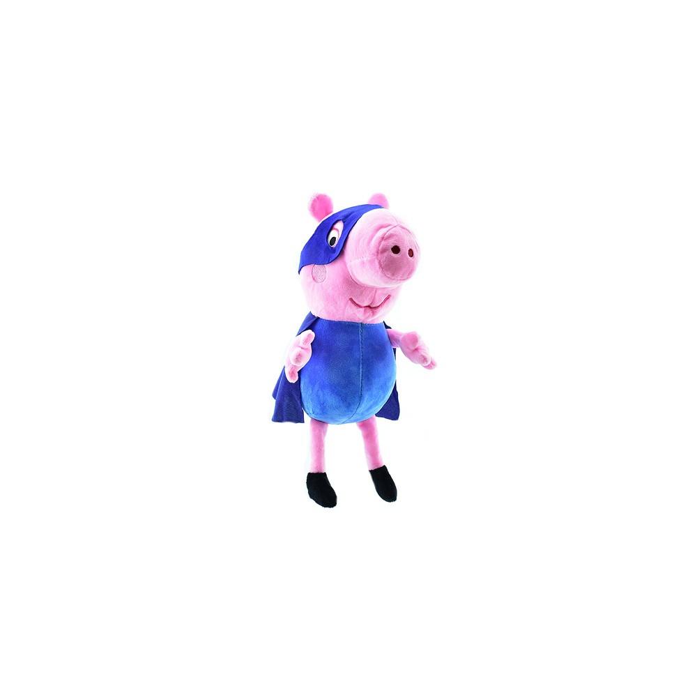 """Мягкая игрушка Свинка Пеппа """"Джордж Бетмен"""" Копиця"""