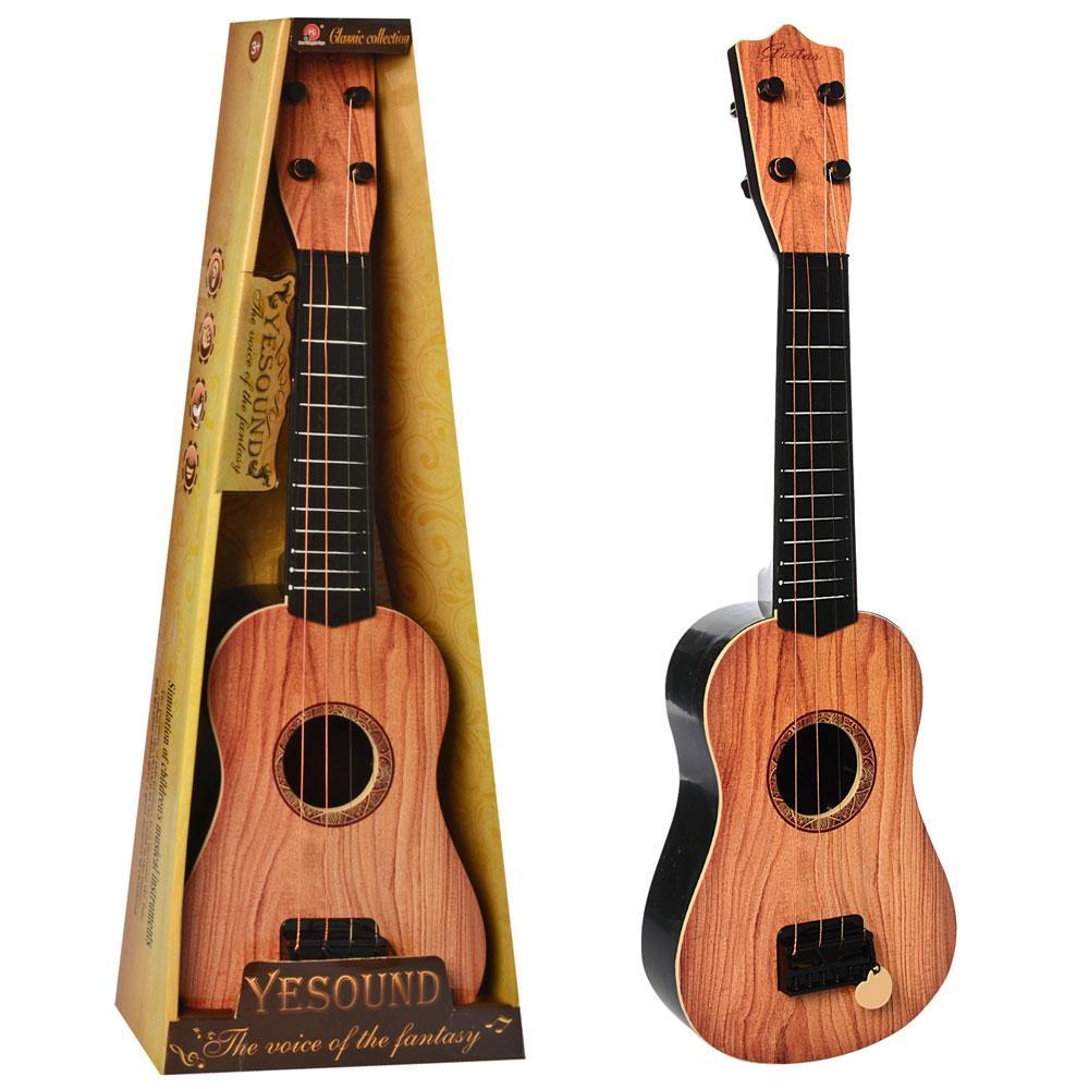 Дитяча гітара 898-17-18 54 см, 4 струни, медіатор