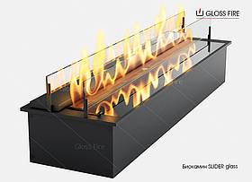 Биокамин на жидком топливе - дизайнерский механический камин модель Slider Glass 600