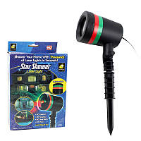 Проектор лазерный уличный Star Shower Laser Light Usb 150248