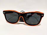 Світлові неонові окуляри для вечірок помаранчеві, фото 2