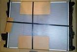 Радиатор, охлаждение двигателя Рено Трафик 1.9dci (с кондиционером) - NISSENS (Дания) 63025A