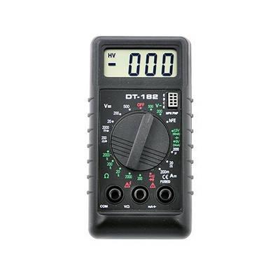 Цифровой мультиметр тестер вольтметр DT-182 179275
