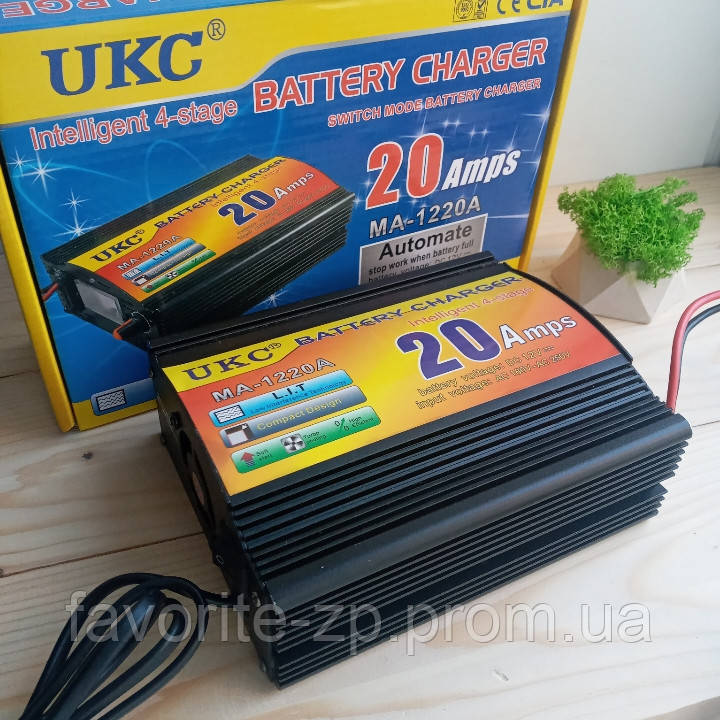 Зарядное устройство для аккумулятора UKC Battery Charger 20A MA-1220A