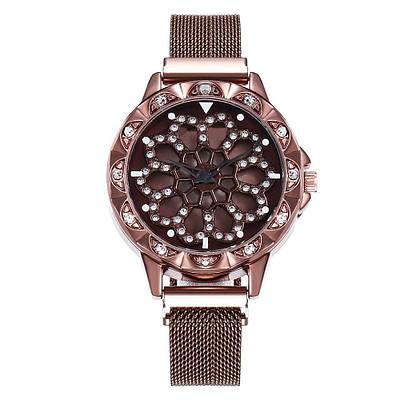 Часы наручные Rotation Watch Коричневый 152832