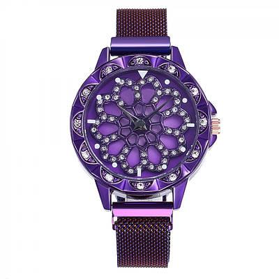 Часы наручные Rotation Watch Фиолетовые 152835