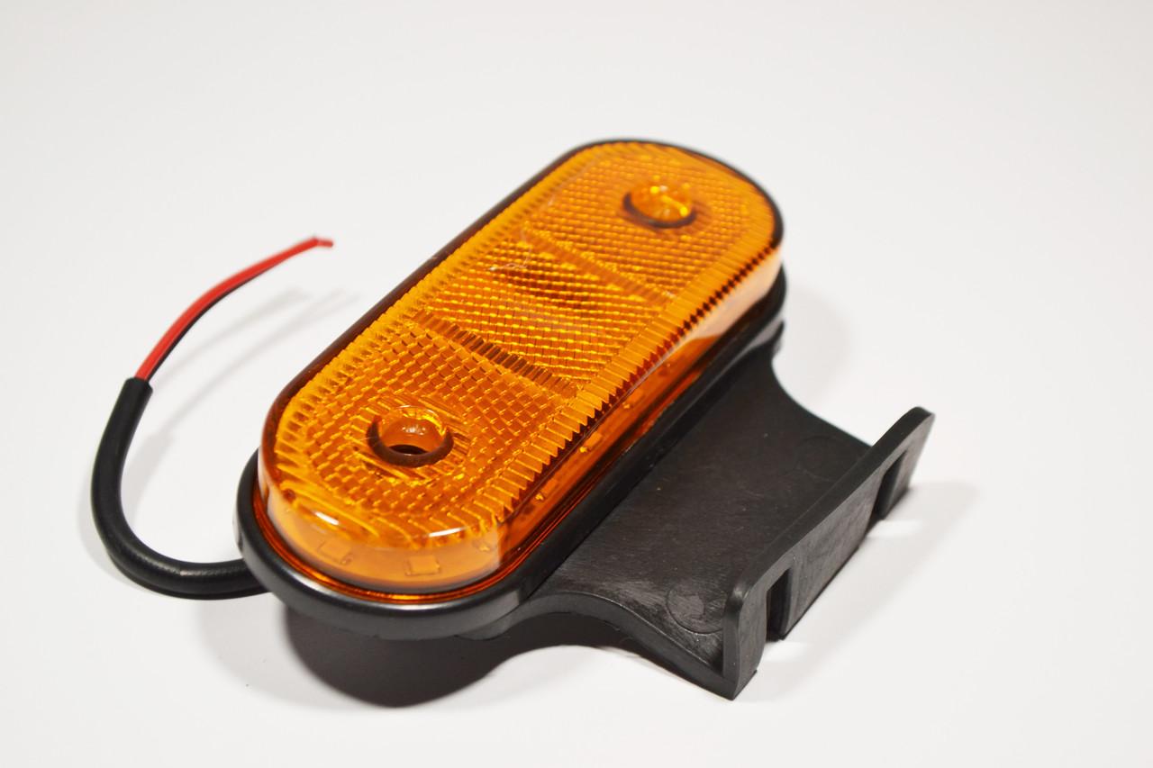 Габаритный LED фонарь 24Вольт Желтые