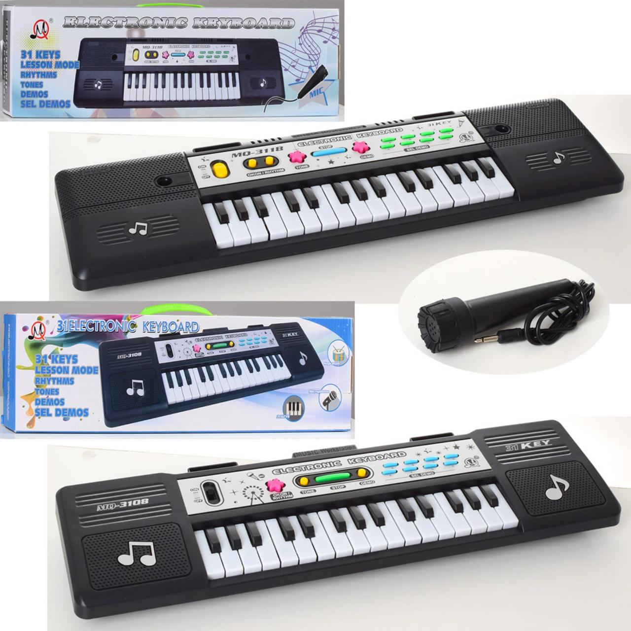 Дитячий синтезатор 3108-3118