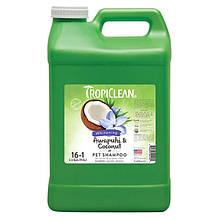 Шампунь Tropiclean Awapuhi & Coconut Pet Shampoo (Ибирь и Кокос) для белой шерсти 9,5 л