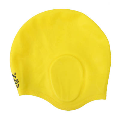 Шапочка для плаванья Conquest желтая 150056