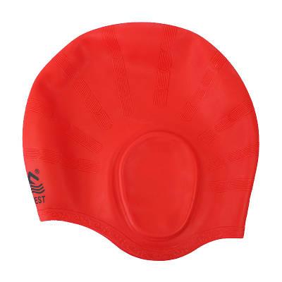 Шапочка для плаванья Conquest красная 150058