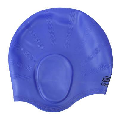Шапочка для плаванья Conquest синяя 150057