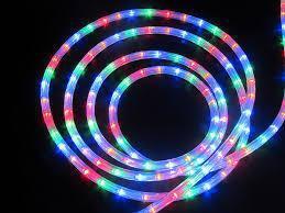 """Зовнішня Герметична LED гірлянда Дюралайт """"Duralight"""" 10 метрів Мульти-Кольоровий, 180 Ламп, 8 режимів"""