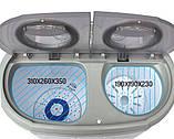 Прально-центрифужна машинка туристична Camry CR 8052 для кемпінгу, фото 2