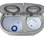 Прально-центрифужна машинка туристична Camry CR 8052 для кемпінгу, фото 3