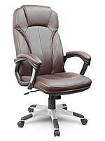 Шкіряне офісне крісло Eago EG-222 коричневе