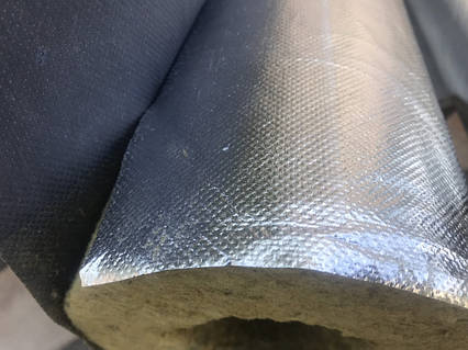 Цилиндр с фольгой d34 толщина 50 мм, цилиндры минвата