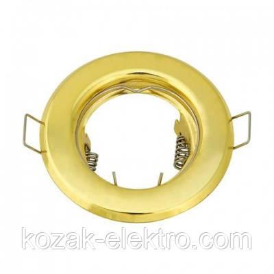 KAMELYA Светильник точечный под лампу MR16/JCDR цвет золото