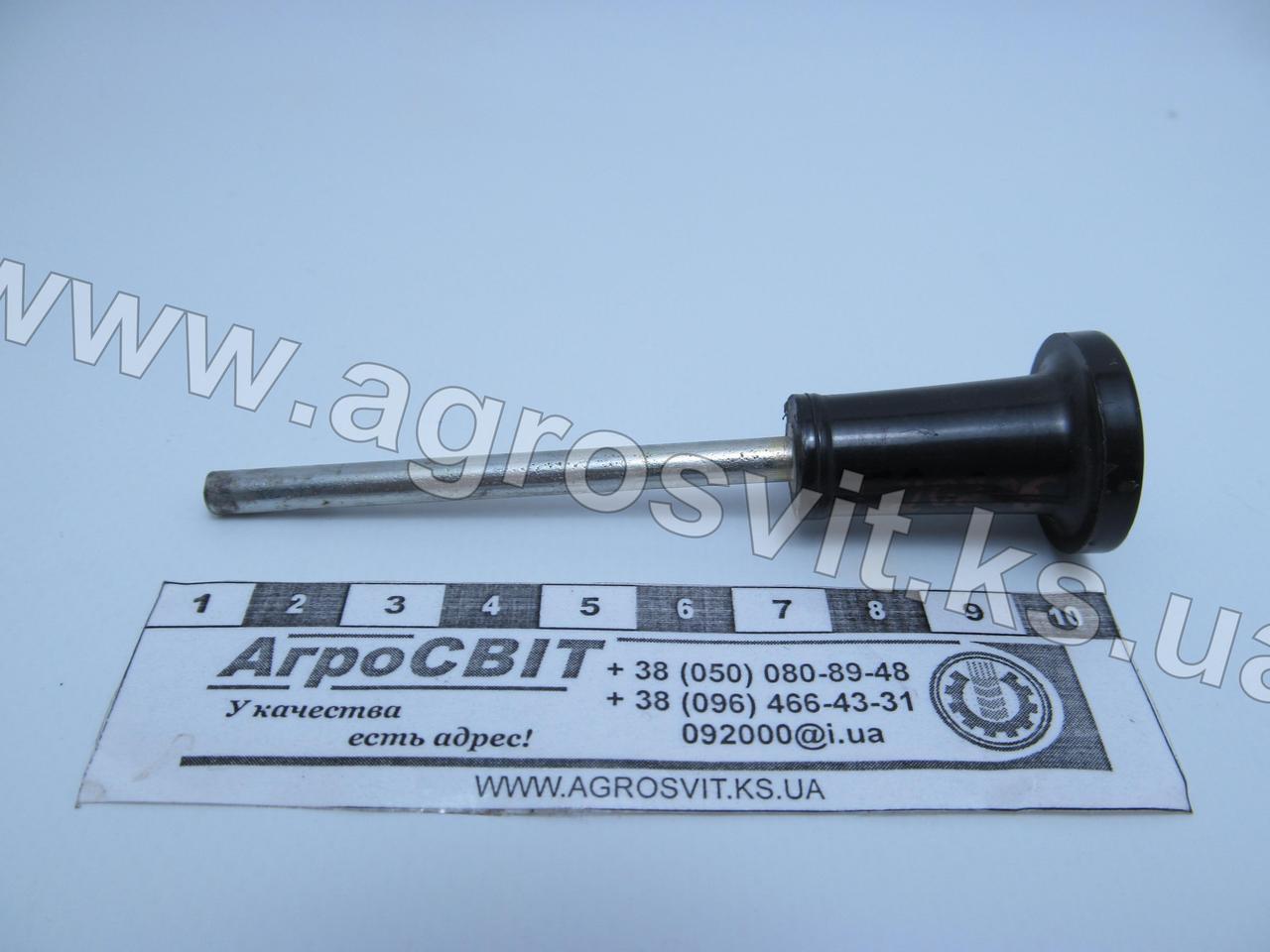 Рукоятка троса управления МТЗ (черная); кат. № 70Л-1024227