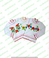 Вышиванка для девочки с вышивкой, интерлок, комсомольский трикотаж, детская одежда, интернет магазин