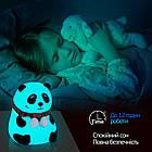 Детский силиконовый ночник «Панда», фото 4