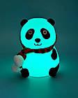 Детский силиконовый ночник «Панда», фото 2