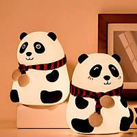 Детский силиконовый ночник «Панда»