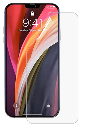 Гідрогелева захисна плівка на iPhone 12 на весь екран прозора, фото 2