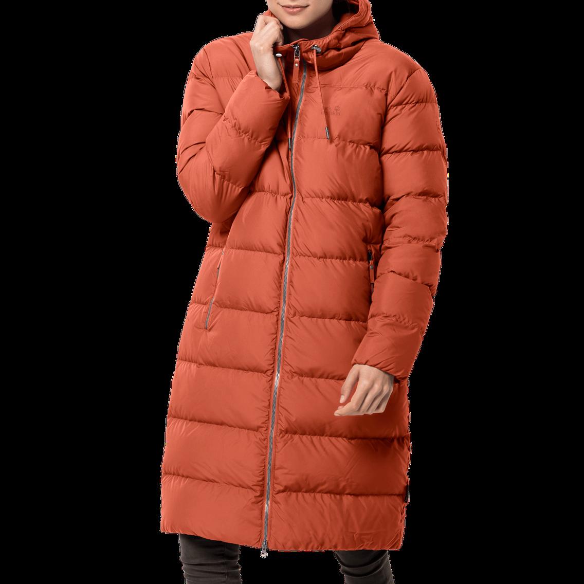 Женское пуховое пальто Jack Wolfskin Crystal Palace Coat