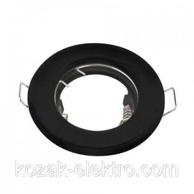 KAMELYA Светильник точечный под лампу MR16/JCDR цвет черный