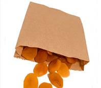 Бумажный пакет саше уголок 160х150х50 мм бурый (1000 шт в упаковке)
