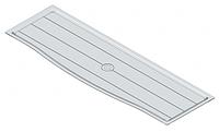 S -5213, поддон прозрачный, для сушки 700мм, 640х240х10мм