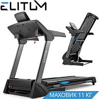 Беговая дорожка для дома Elitum TX900 +Bluetooth Мощность двигателя: 3,5 л.с. Полотно: 150х50 см
