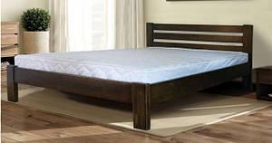 """Ліжко дерев'яна полуторне """"Класик"""" 140*200 від Mebelvik"""