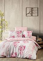 Постільна білизна First Choice Ranforce Rina ранфорс 200-220 см рожевий
