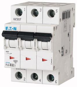 Авт. вимикач Eaton PL6 3p 32A B 6kA 286592
