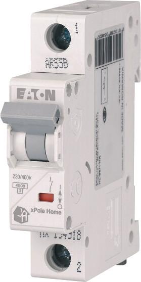 Автоматичний вимикач Eaton HL 1p 6A C 4,5kA 194728