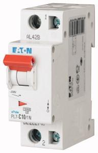 Авт. вимикач Eaton PL7 1+Np 10A B 10kA 262728