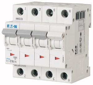 Авт. вимикач Eaton PL7 3+Np 6A C 10kA 263992