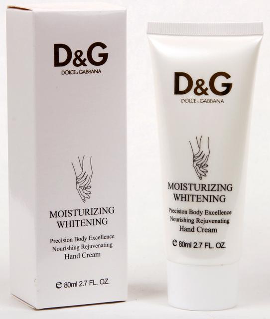 Крем для Рук DOLCE and GABBANA Moisturizing Whitening 80 g, ABD/21 - Promparfum — парфюмерия, косметика, ногтевой сервис в Харькове