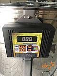 Медогонка автоматическая, синхронно-поворотная, 4 рамочная Дадан, фото 6