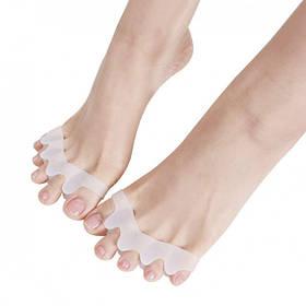 Силиконовый корректор-разделитель для пальцев ног Valgus Pro (СФ7)