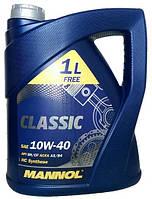 Моторное масло полусинтетика Mannol (Манол) Classic 10w40 5л