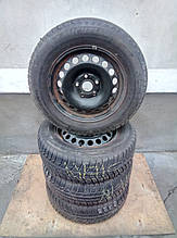 Шины  на дисках  195 \ 65 \ 15   Michelin 2007 р. ( 7мм. ) Volkswagen Caddy , Golf 1K0601027C