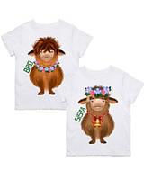 """Парні футболки з принтом """"Bro. Sista"""" Push IT"""