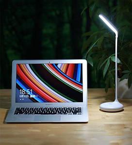 Настольная аккумуляторная LED лампа на подставке Remax Dawn RT-E190