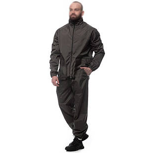 Костюм дождевик с капюшоном Sky-Fish XL, XXL, XXXL для рыбалки куртка + штаны